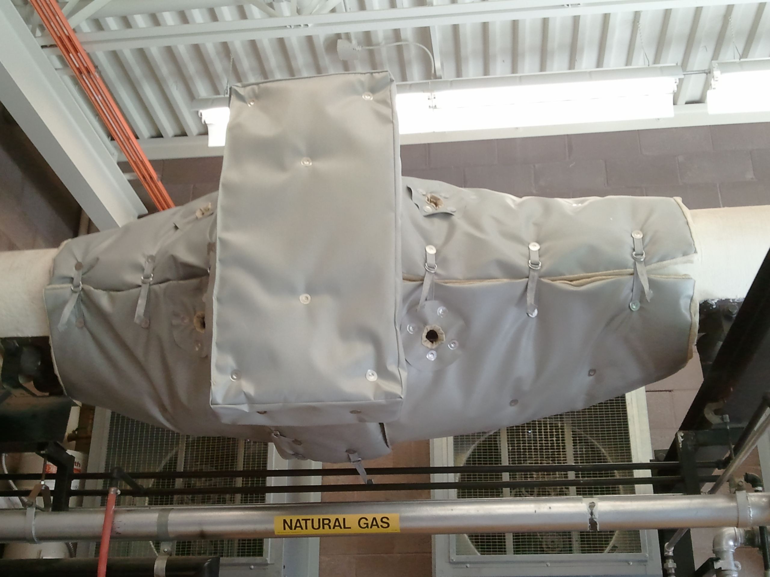 Blankets For Catalytic Converters At Power Plant 1