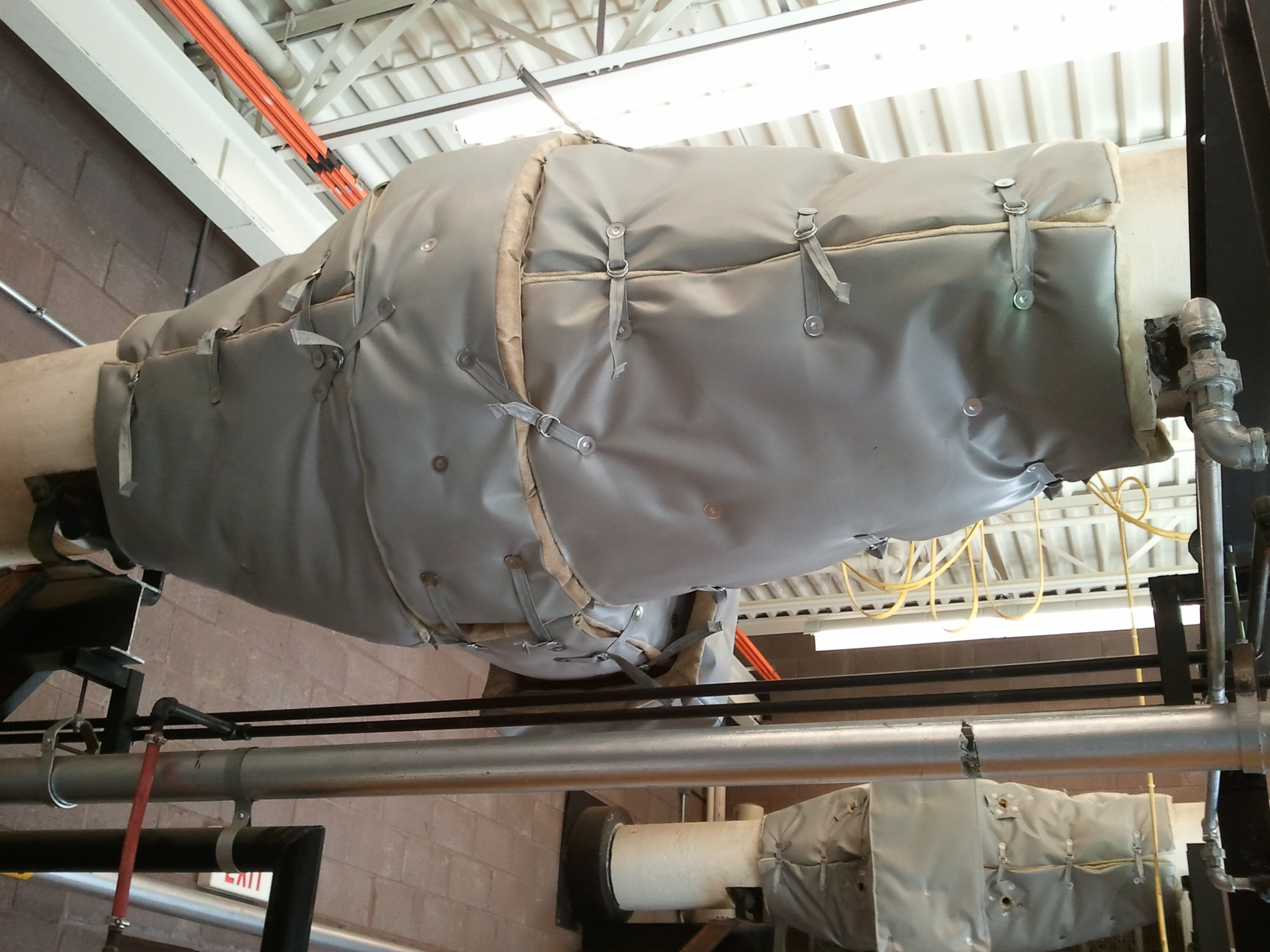Blankets For Catalytic Converters At Power Plant 2