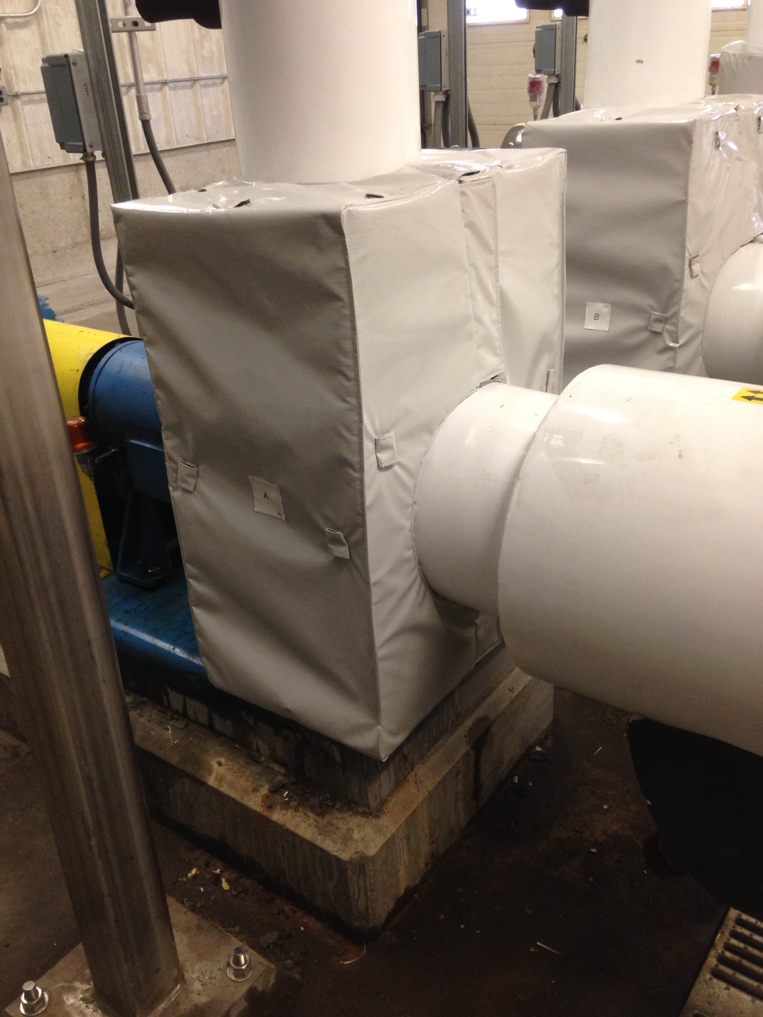 Removable Insulation Blankets For Pumps 1