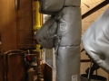 Removable Insulation Blankets For Valve Strainer And File Pipe 1